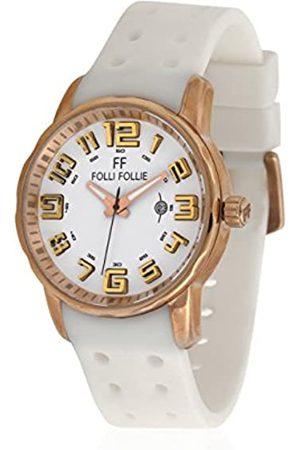 Folli Follie Damen Uhren - Uhr mit Miyota Uhrwerk Woman WF1R042ZDW 45 mm