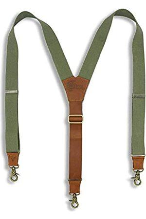 Wiseguy Original Suspenders Hosenträger Leder Flex Schlank 2