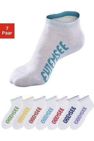 CHIEMSEE Sneakersocken, (7 Paar), mit farbigen Logos