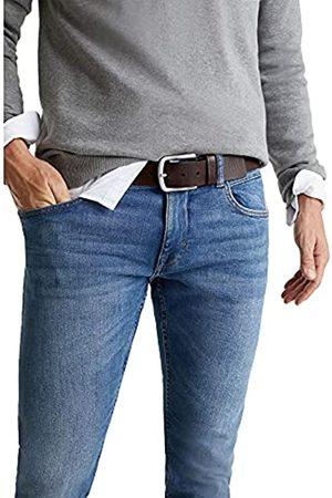 ESPRIT Ledergürtel mit matter Schließe