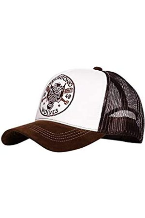 King Kerosin Herren Trucker Cap | Stickerei | Mesh | Gebogener Samt Schirm San Antonio Wolves