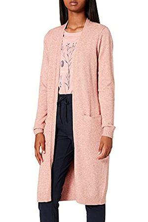 Vila Clothes Damen VIRIL Long L/S Knit Cardigan - NOOS Strickjacke