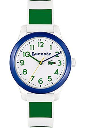 Lacoste Jungs Analog Quarz Uhr mit Silicone Armband 2030033