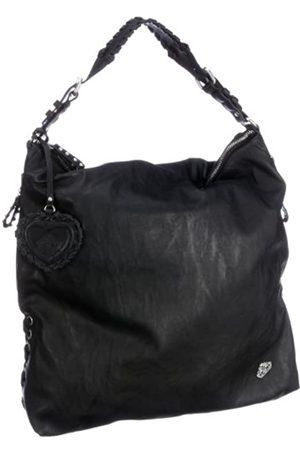 Fornarina Damen Shopper - Bags FANNY B612PS28, Damen, Shopper, (BLACK)