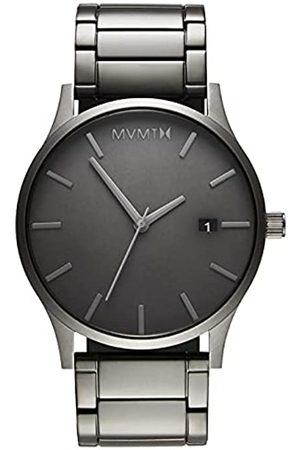 MVMT Herren Analog Quarz Uhr mit Edelstahl Armband D-MM01-GR