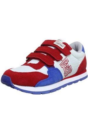 ESPRIT Jungen Schuhe - Kivu-e Tape P12762, Unisex-Kinder Sneaker, (heart red 613)