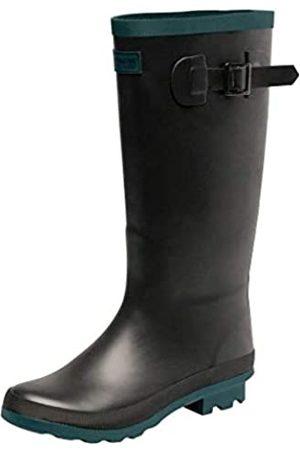 Regatta Damen Ly Fairweather II Rain Boot, Black/Teal
