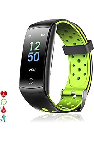 DAM Q8T Smart-Armband mit Körpertemperatur, Multi-Sport-Armband, Herzfrequenzmonitor