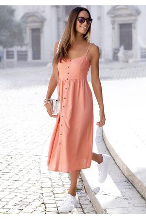 Lascana Sommerkleid, aus Leinenmix