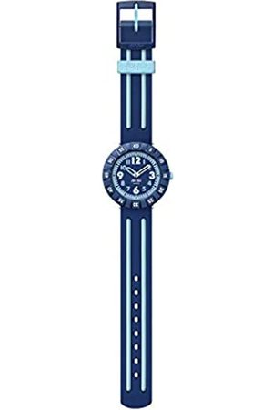 Flik Flak Unisex Kinder Analog Quarz Uhr mit Kunststoff Armband FCSP094