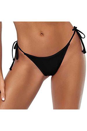 Tainehs Damen Sexy Neckholder Tanga Bikini Bottom Micro String Tanning Bikini Bottom Badeanzug - - Small