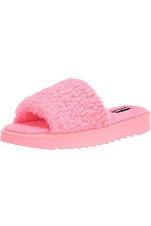 Nine West Damen Sandalen - Damen Fuzzie2 Flache Sandale