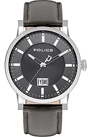 Police UnisexErwachseneAnalogQuarzUhrmitLederArmbandPL15404JS.13