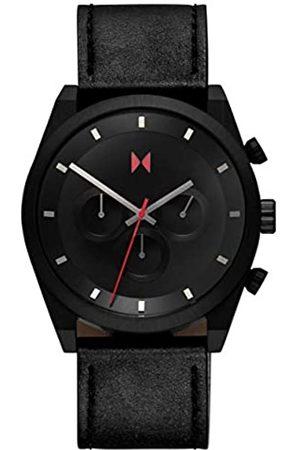 MVMT Herren Analog Quarz Uhr mit Leder Armband 28000045-D