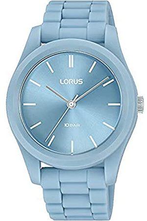 Lorus Damen Analog Quarz Uhr mit Silicone Armband RG237SX9