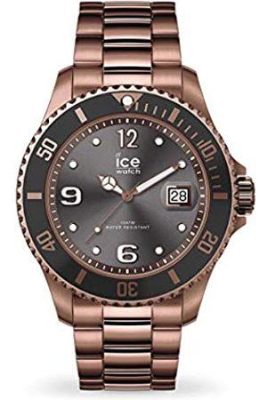 Ice-Watch ICE steel Bronze - Braune Herrenuhr mit Metallarmband - 016767 (Large)