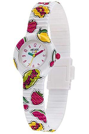 Hip Mädchen Analog Quarz Uhr mit Silikon Armband HWU1036