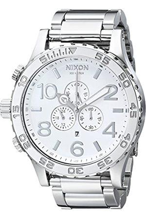 Nixon Herren Uhren - Herren-Armbanduhr Chronograph Edelstahl A083488-00
