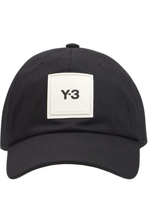 Y-3 Herren Caps - Kappe Aus Baumwolle Mit Logo