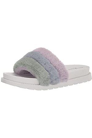Chinese Laundry Damen TREAT SOFTY FUR Schiebe-Sandalen