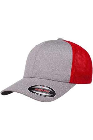 Flexfit Herren Caps - Herren Melange Stretch Mesh Cap Mütze