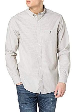 GANT Herren D1.REG BC Micro Stripe Contrast BD Hemd