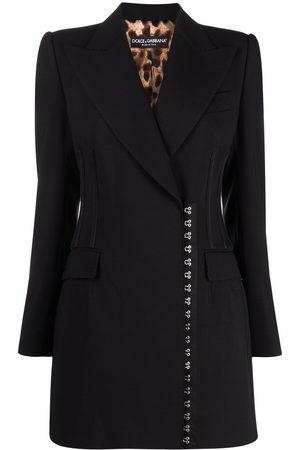 Dolce & Gabbana Mantel mit seitlichem Verschluss