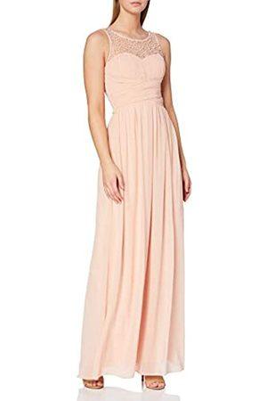 Little Mistress Damen Maxi Dress Kleid, Pink (lachsrosa)