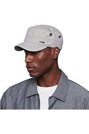 CACUSS 100% Baumwolle, klassische Militärmütze, für Herren und Damen, verstellbare Armee-Mütze, bequem, Kadettenmütze