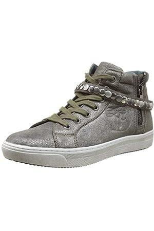 TOM TAILOR Damenschuhe, Damen Sneakers, (platin)