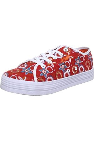 s.Oliver Casual 5-5-53214-30, Mädchen Sneaker, (Red Comb 597)