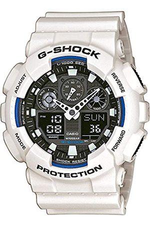 Casio G-Shock Herren Harz Uhrenarmband GA-100B-7AER