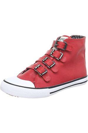 ESPRIT Benny Multi Buckle P12756, Mädchen Sneaker, Pink (bubble gum pink 694)