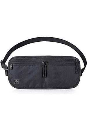 Mekarsoo Reisegeldgürtel, Gürteltasche, Brusttasche mit RFID-blockierung, für Damen und Herren, Diebstahlschutz, versteckte Reise-Geldbörse für Bargeld, Kreditkarte, Reisepass