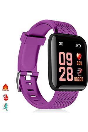 DAM ID116 Smart-Armband mit Bluetooth 4.0 Farbdisplay, Herzfrequenzmonitor, Pulsmesser