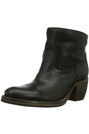nobrand Damen Gang Cowboy Stiefel, (Black 02)