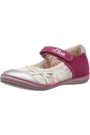 s.Oliver Casual 5-5-32622-22 Mädchen Ballerinas, Pink (Fuxia Comb 599)