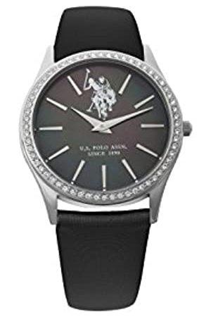 Ralph Lauren Herren Analog Quarz (Japanisch) Uhr mit Textil Armband USP5249BK_BK
