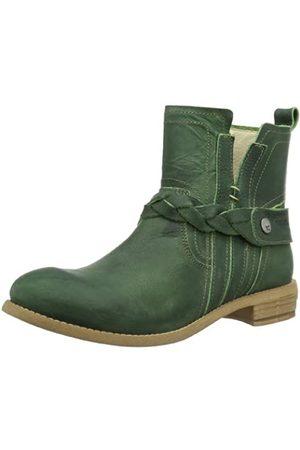Yellow Cab Damen Dakota W Chelsea Boots, (Green)