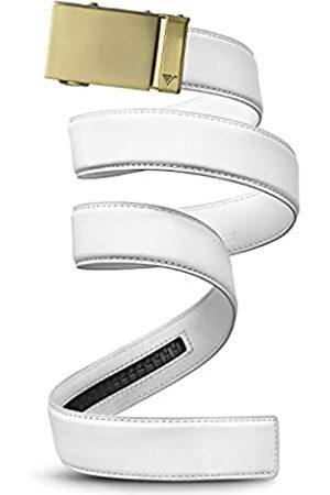 Mission Belt Ledergürtel für Herren mit Ratschenverschluss, 40 mm lang