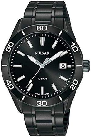 Pulsar Sport Herren-Uhr Edelstahl mit Metallband PS9649X1