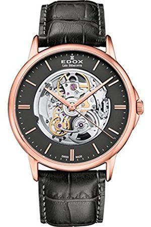 Edox Herren analog Schweizer Automatik Uhr 85300 37R Gir