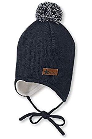 Sterntaler Jungen Hüte - Mütze für Jungen mit Bommel und Ohrenklappen, Gefüttert, Alter: 12-18 Monate, Größe: 49