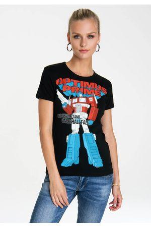 LOGOSHIRT T-Shirt »Optimus Prime - One Shall Stand«, mit lizenziertem Originaldesign