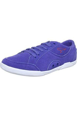 KangaROOS Doreen 31613, Damen Sneaker, (almostroyal/prawn 464)