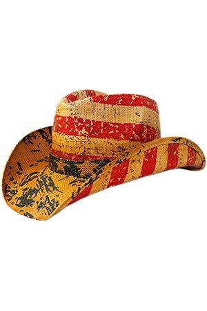 Rising Phoenix Industries Vintage Patriotische USA Amerikanische Flagge Sterne und Streifen Western Cowboy Hut für Männer oder Frauen