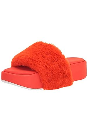 NINE WEST Damen Rize8 Flache Sandale