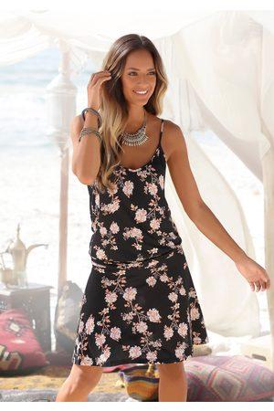 Lascana Strandkleid, mit floralem Alloverdruck