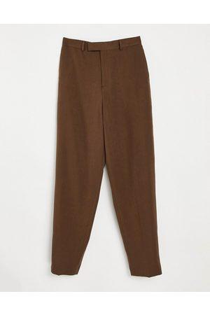 ASOS Herren Chinos - – Schmal geschnittene, elegante Hose in mit hohem Bund