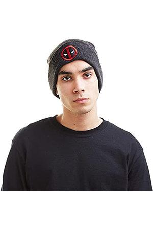 Marvel Herren Deadpool Logo Strickmütze